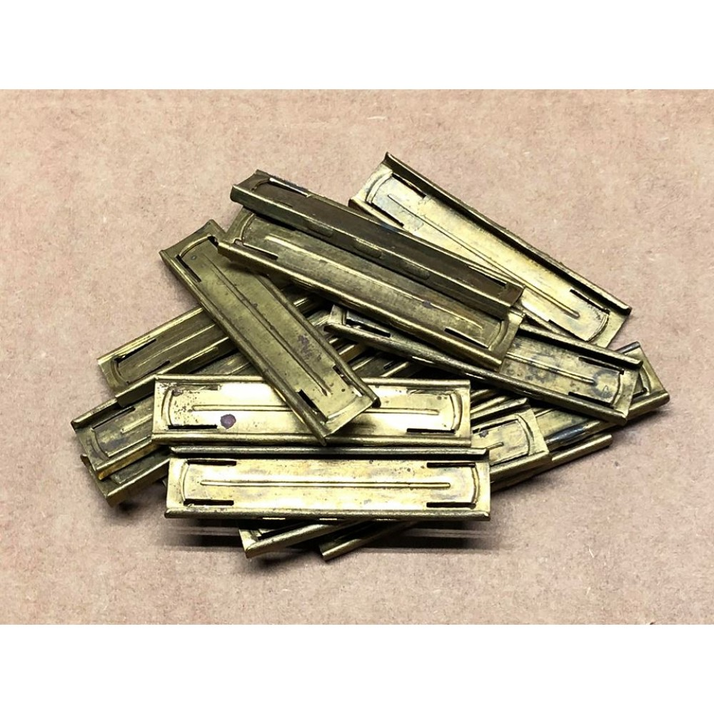 8mm Mauser Stripper Clips - Turkish One Piece Brass   Victory Arms &  Munitions