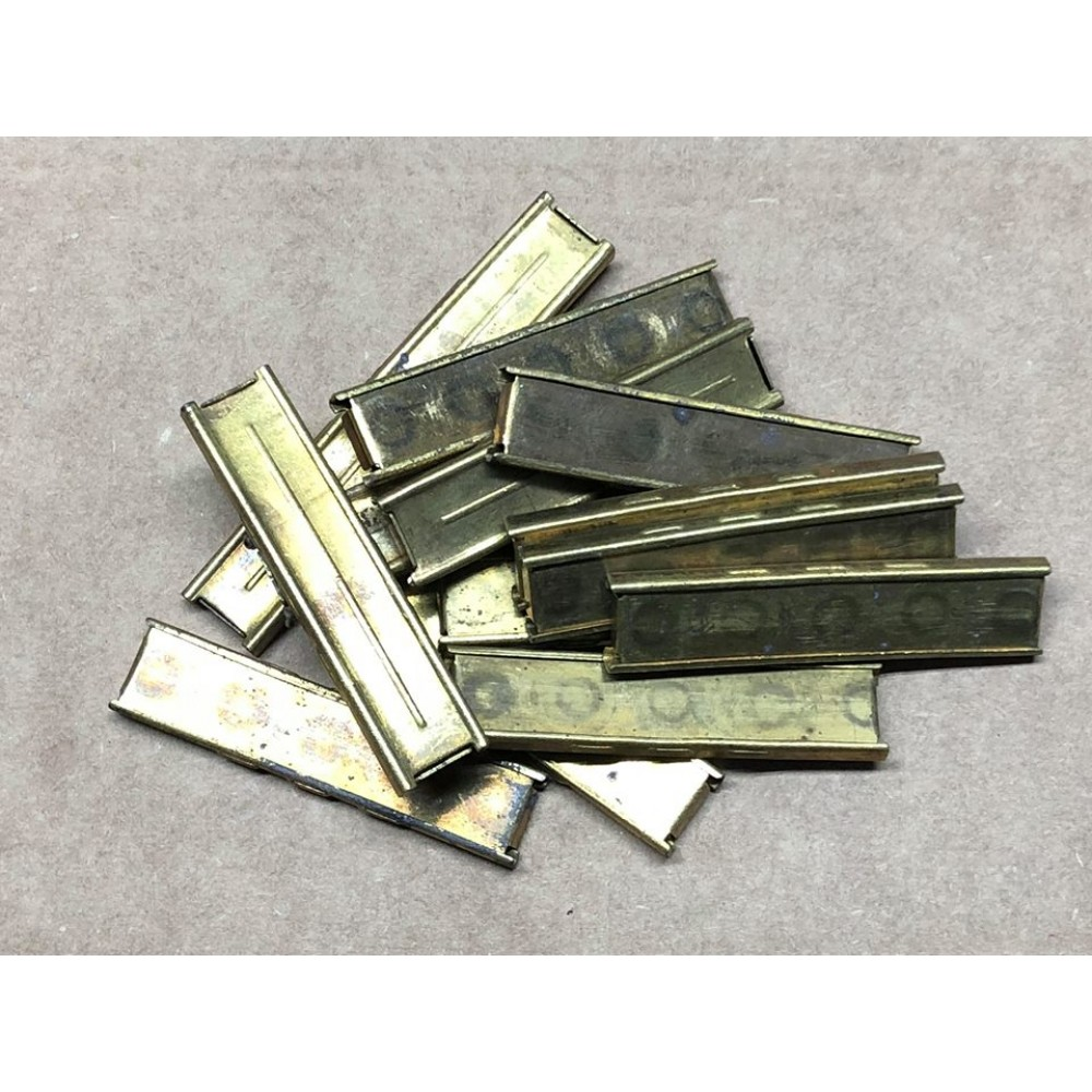 8mm Mauser Stripper Clips - Turkish Two Piece Brass   Victory Arms &  Munitions