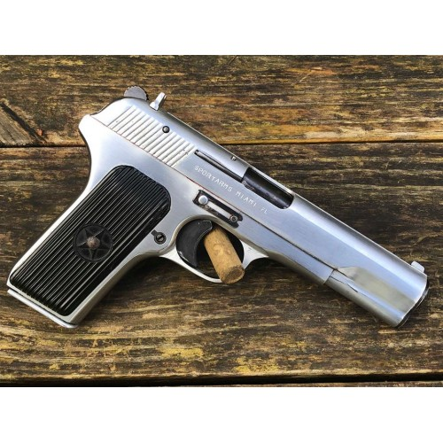 Chinese Norinco 213 Tokarev - 9mm - Full Chrome