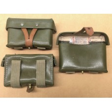 Chinese SKS Green Vinyl Stripper Clip Pouch