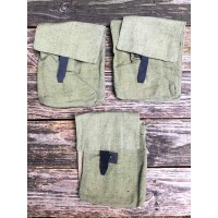 Romanian Export AK 30rd 4-Cell Magazine Pouch - Cotton OD