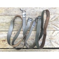 Romanian AK Grey Leather Parade Sling - Good Condition