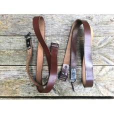 Romanian AK Brown Leather Sling