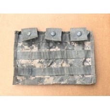 USGI Surplus 30rd M16 3-Magazine ACU MOLLE Shingle Pouch